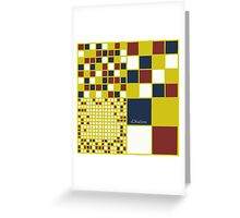 Building Blocks Greeting Card