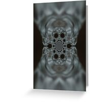 The Hitchcock Fractal Greeting Card