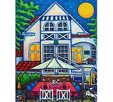 The Little Festive Danish House Photographic Print