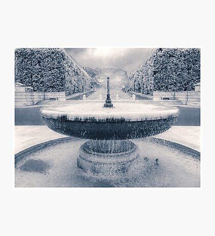 Memorial Fountain Photographic Print