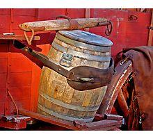 Wagon Barrel Photographic Print