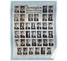 1972 Farmington High School Poster