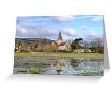 Alfriston Church Greeting Card