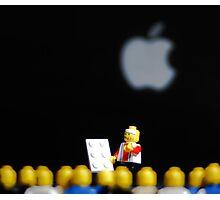 Steve Jobs Launches the iPad. Photographic Print