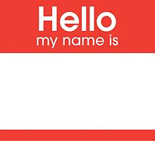 Hello My Name Is by Omar Nejjar