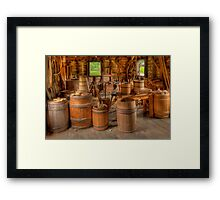 Workshop  Framed Print