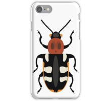 Common asparagus beetle iPhone Case/Skin