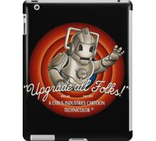 Upgrade All Folks iPad Case/Skin
