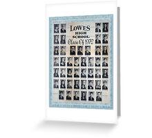 1972 Lowes High School Greeting Card