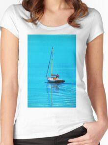 Zipping Along Women's Fitted Scoop T-Shirt