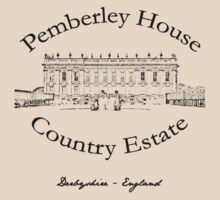 Pemberley House Country Estate by undercoverhuman
