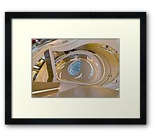 Time Square Mall Framed Print