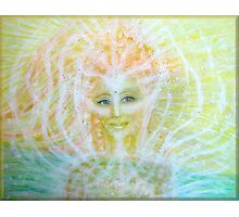 Angel of healing Photographic Print