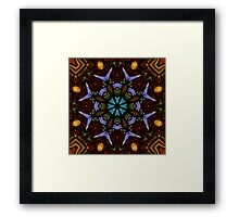 The Wheel of Life - square Framed Print