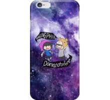 Dan and Phil Galaxy  iPhone Case/Skin
