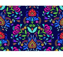 folk pattern - mexican vacation.  Photographic Print