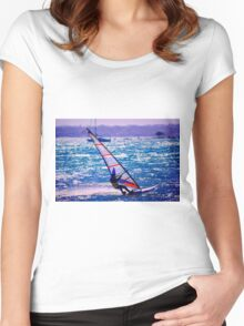 With A Quickness Women's Fitted Scoop T-Shirt