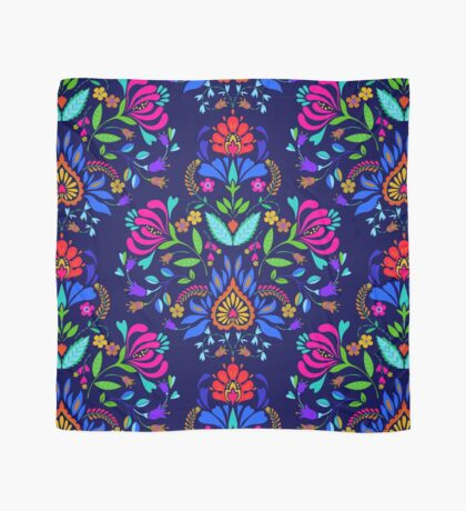folk pattern - mexican vacation.  Scarf