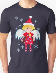 Angel with Santa hat T-Shirt