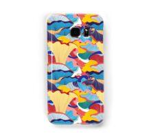 pattern of mushrooms Samsung Galaxy Case/Skin