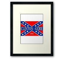 Clinton-Gore 1992 Framed Print