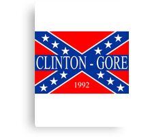 Clinton-Gore 1992 Canvas Print