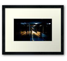 Before the end of light Framed Print