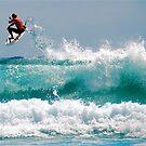 LONG BEACH SURFER by Scott  d'Almeida