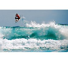 LONG BEACH SURFER Photographic Print