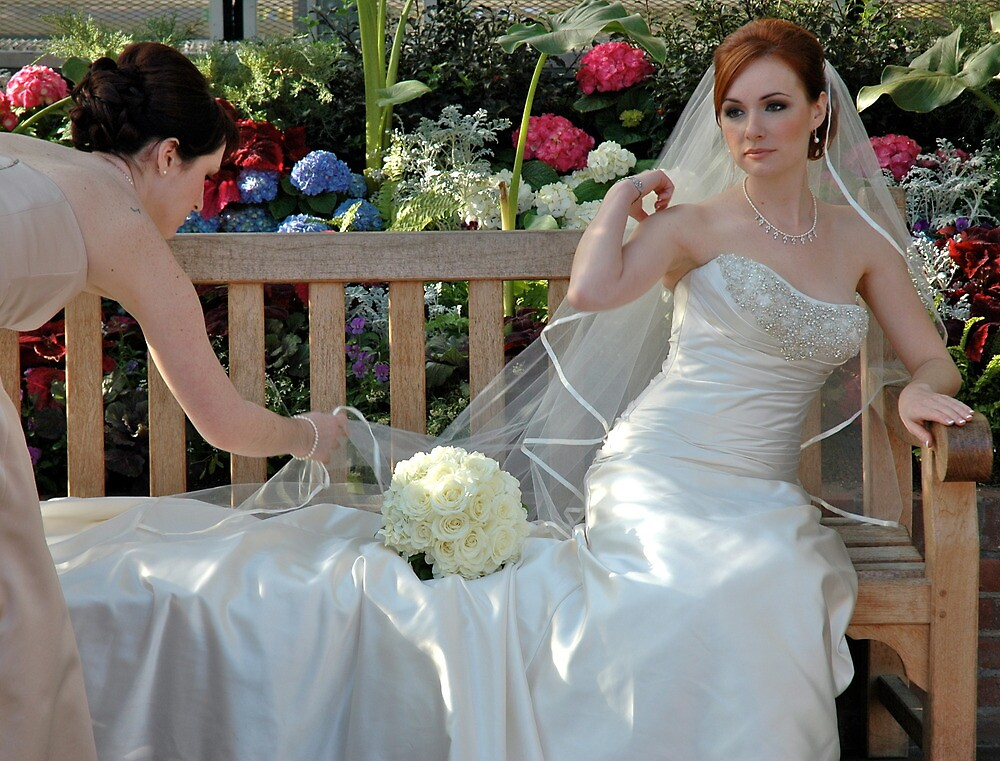 A Bride And Her Maid Of Honor by Ainsley Kellar Creations