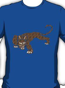 Crouching Tiger T Shirt T-Shirt