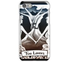 Tarot Greeting Card - Two Lovers iPhone Case/Skin