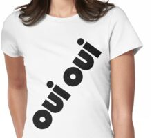 OUI OUI Womens Fitted T-Shirt
