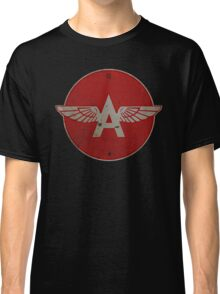 Flying A Gasoline Red Circle Rusty version Classic T-Shirt