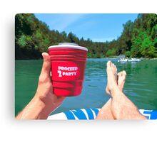 Summer Float Canvas Print
