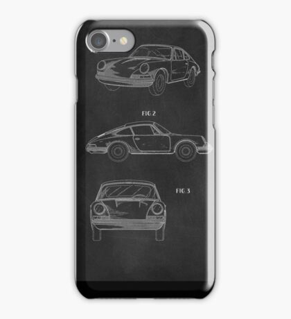 1964 PATENT ART PRINT  iPhone Case/Skin