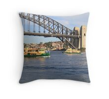 Ferries Throw Pillow