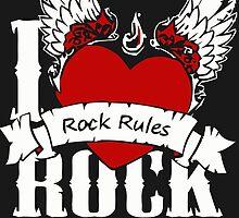 Rock Music Rules by hophop