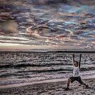 Summer Solstice Sunset Salutation by Rick Gold