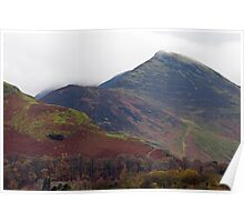 Causey Pike Lake District Poster