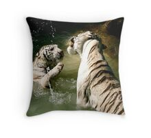 Even beast play Throw Pillow