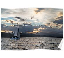 Sailing on Windermere Poster