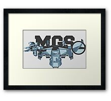 M.G.S - The Best is Yet to Come Framed Print