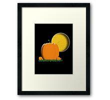 Pumpkin Patch 2 Framed Print