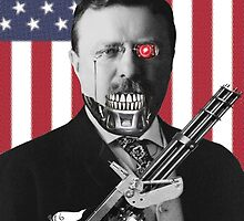 Vote Mech Roosevelt- Teddy Roosevelt for President by EdgarCat