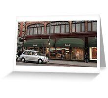 Harrod's - London, UK Greeting Card