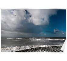 Seascape at Nash Point Poster