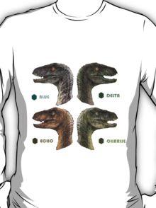 Jurassic Word - Raptors T-Shirt