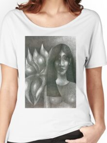 I And My Flower Women's Relaxed Fit T-Shirt