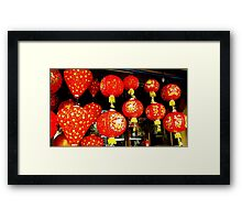 Red Penang Framed Print